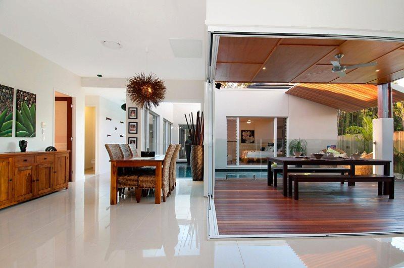 Grant McDonald Homes indoor outdoor living