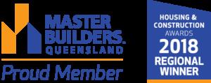 Master Builders 2018 Regional Winner Award