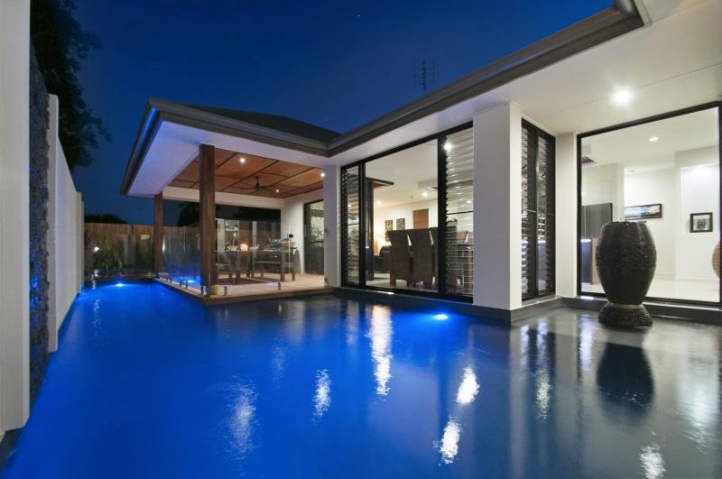 Buderim home and pool